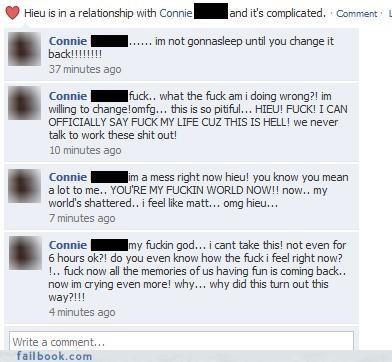 Failbook - girls are nuts - Funny Facebook Fails - Failing
