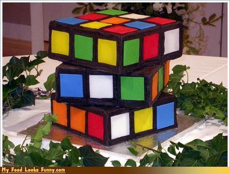 cake icing puzzle cakes puzzles rubiks cube Sweet Treats - 3391825664