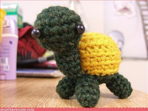 Amigurumi crochet turtle - 3392036864
