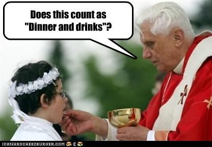 catholics communion pedobear Pope Benedict XVI sex scandal - 3392821248