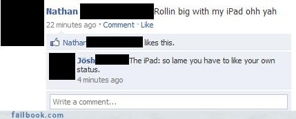 burn,ipad,ouch,technology