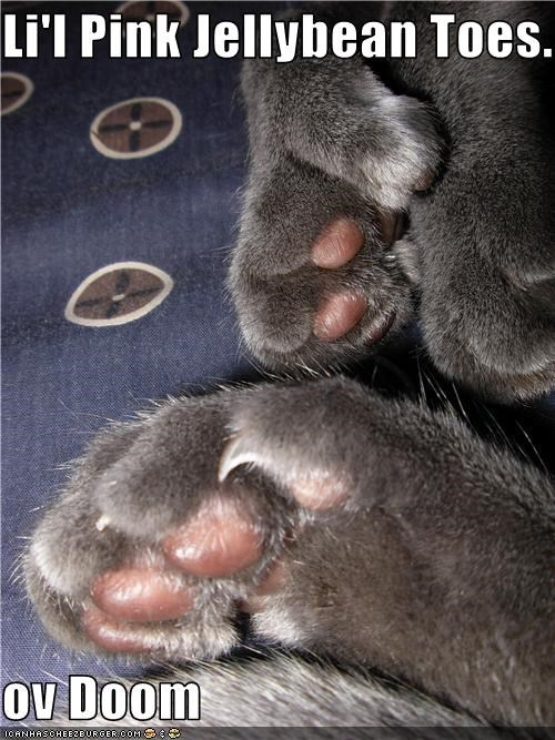 claws doom toes - 3393428224