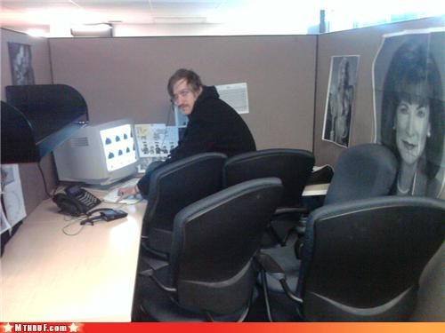 awesome co-workers not black hoody boredom chairs creepy cubicle boredom cubicle prank cubicle rage dickhead co-workers durr ergonomics glare megans-law mess mob mob scene no respect osha passive aggressive prank probably an IT guy rage Sad screw you stare Terrifying wiseass - 3393593344