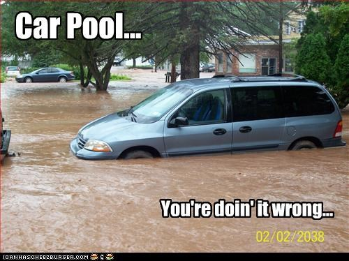 Car Pool... You're doin' it wrong...