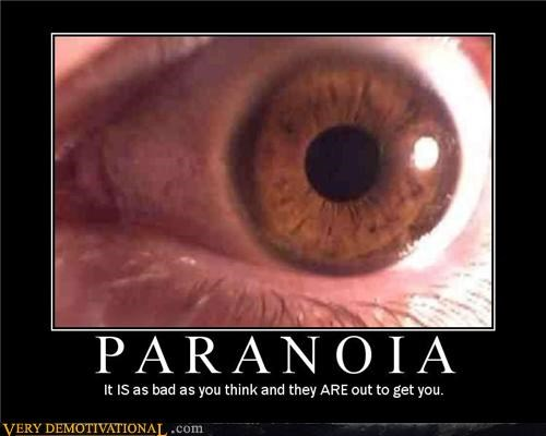 scary paranoia creepy