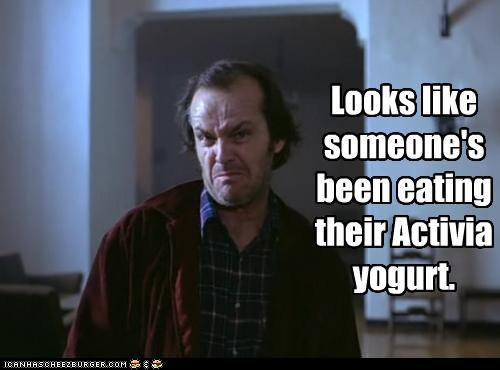 the shining,bathroom,food,jack nicholson,poop