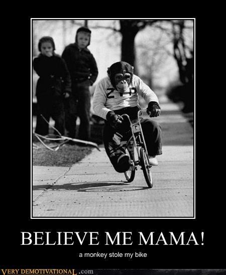 wtf kids monkey bike