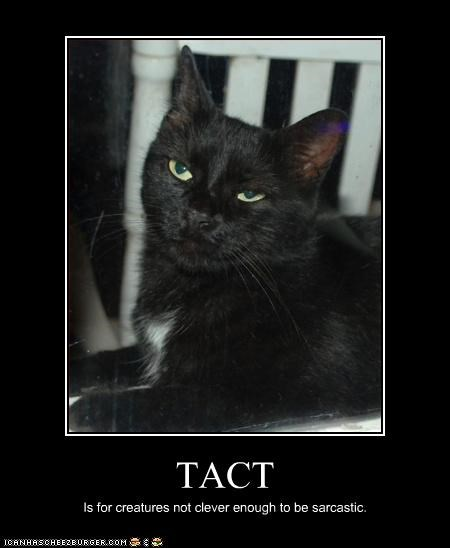 sarcastic,tact