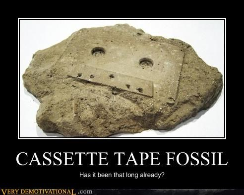 analog demotivational history mixtape Sad tape the past - 3397692928