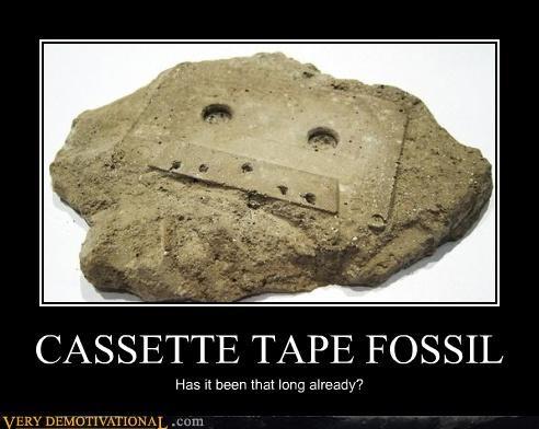 analog demotivational history mixtape Sad tape the past - 3397692928