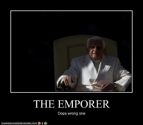 THE EMPORER Oops wrong one