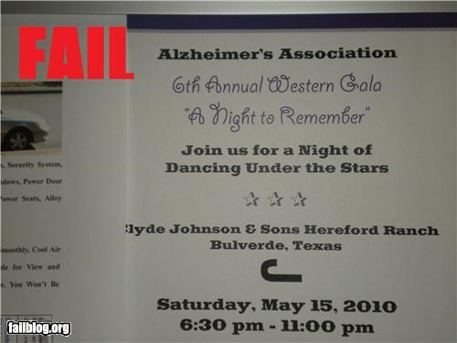 alzheimers-disease bad idea failboat g rated Party theme - 3400771328