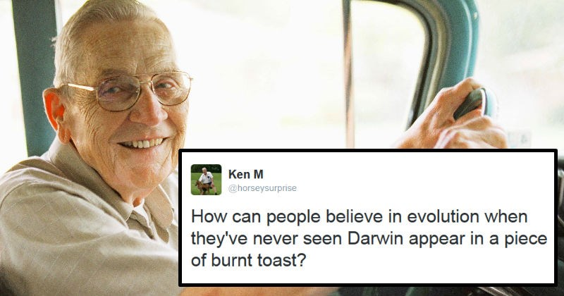 A funny and entertaining collection of the legendary internet troll, Ken M's greatest work.