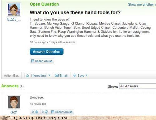 bondage tools Yahoo Answer Fails - 3402209536