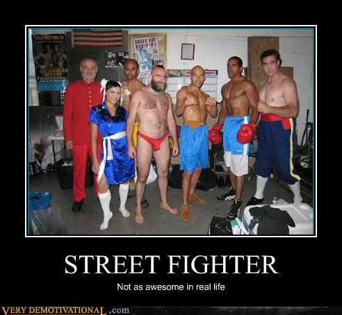 capcom cosplay demotivational IRL larping Sad Street fighter Videogames