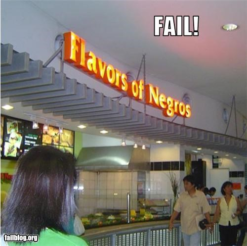 bad name failboat fast food restaurant
