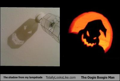 lamp movies oogie boogie shadow the nightmare before christmas