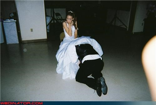 confusing locale Crazy Brides crazy groom digging for buried treasure embarrassed bride Garter miscellaneous-oops surprise technical difficulties upskirt working for it - 3405646848