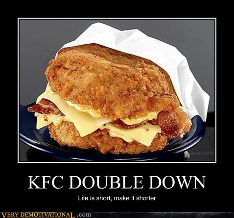broken hearts Double Down heart clogs kfc Pure Awesome Terrifying