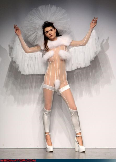 crazy bride Crazy Brides crazy groom eww fashion is my passion platforms surprise technical difficulties transvestite upskirt wedding dre Wedding Dress Costume Wedding Themes wtf - 3407555328