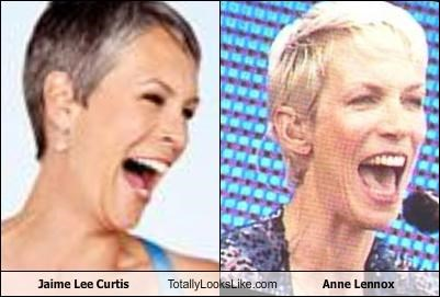 actress,annie lennox,jamie lee curtis,musician