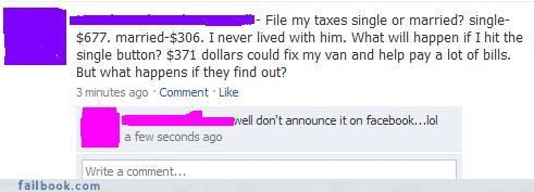 bad idea did-you-friend-the-irs drama exs relationships taxes youre-just-asking-for-trouble - 3408614400