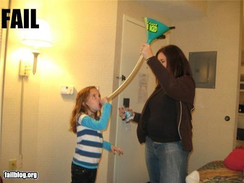 bad idea beer bong failboat g rated kid parents - 3410652416