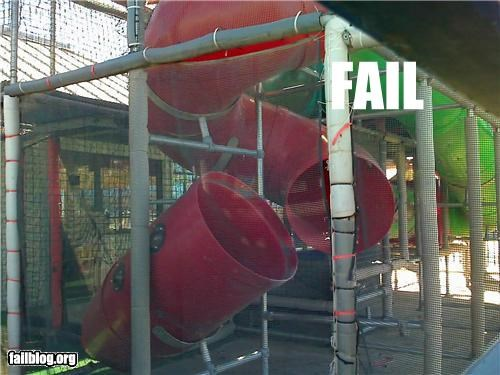 broken failboat g rated play ground slide - 3410906368