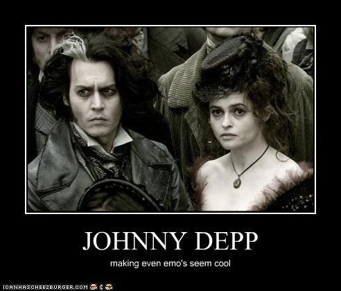 JOHNNY DEPP making even emo's seem cool