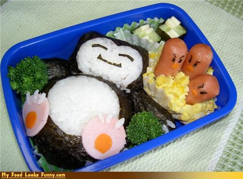bento box box Japan Pokémon sleeping snorlax - 3412357632