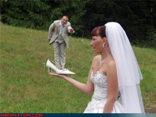 confusing Crazy Brides crazy groom photoshop shoe surprise technical difficulties were-in-love wtf - 3413194496