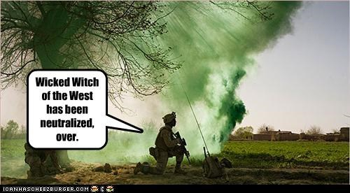 afghanistan,military,smoke,smoke bomb,soldiers,the wizard of oz
