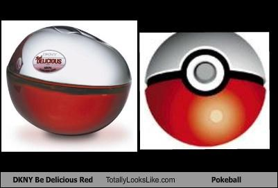 dkny packaging perfume pokeball Pokémon