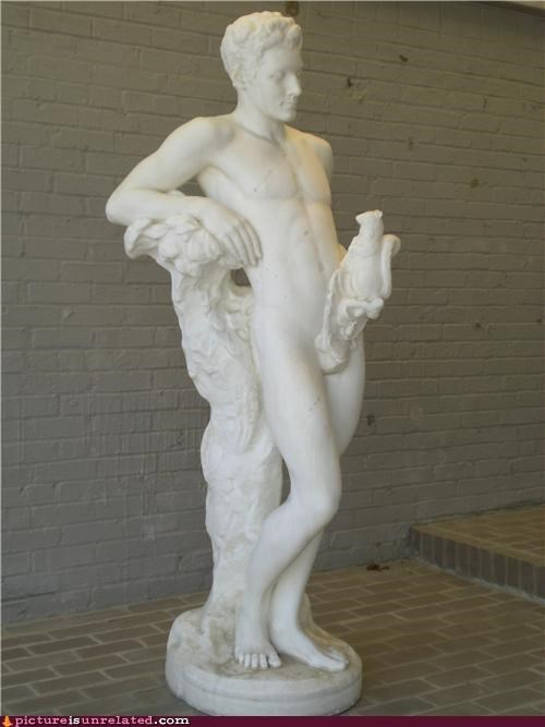 animals,art,classic,not clothed,statue,wtf