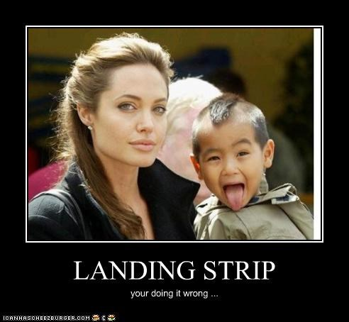 LANDING STRIP your doing it wrong ...