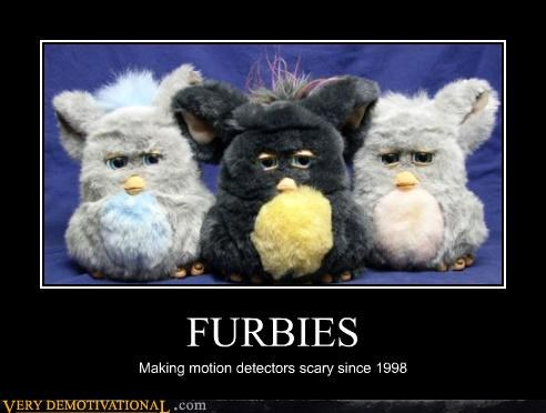 motion detection,creepy,furbies