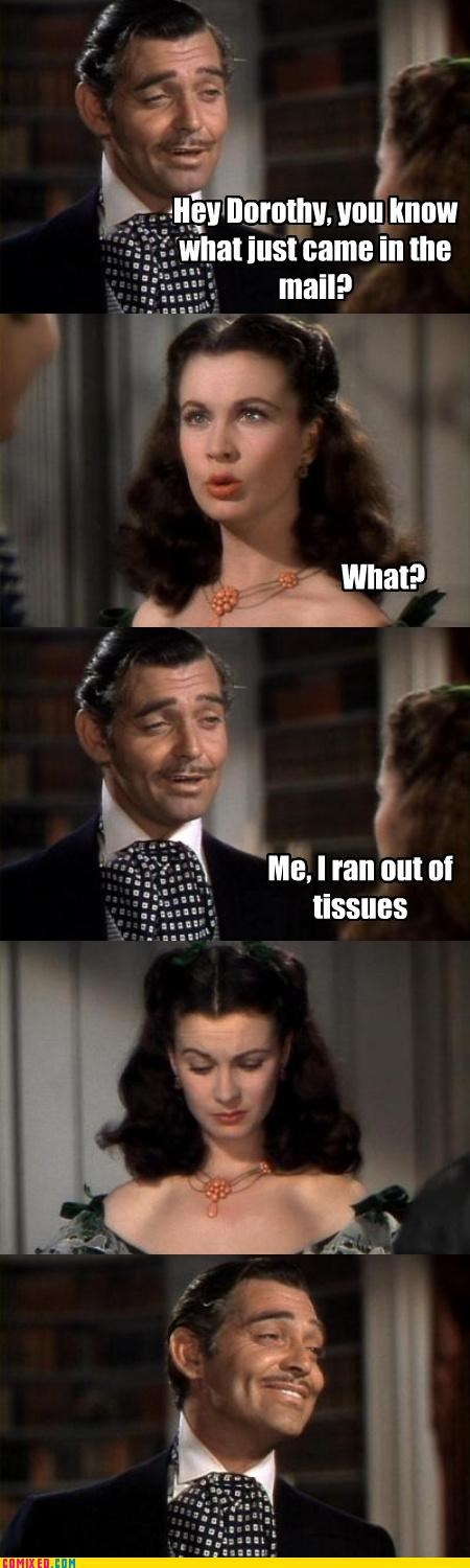 From the Movies gone with the wind mail pranks rhett butler scarlett ohara - 3417840896