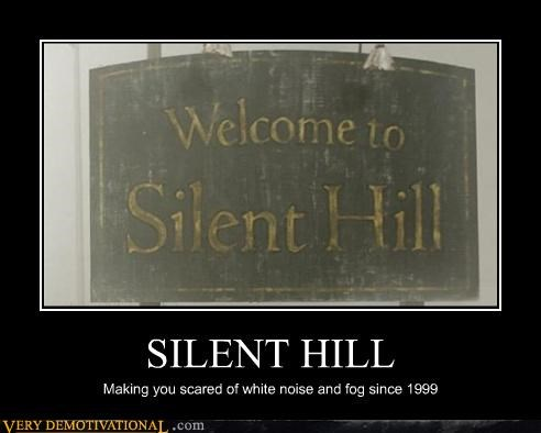 scary silent hill video games fog