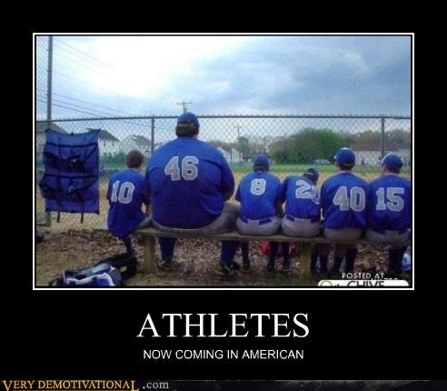 ATHLETES NOW COMING IN AMERICAN