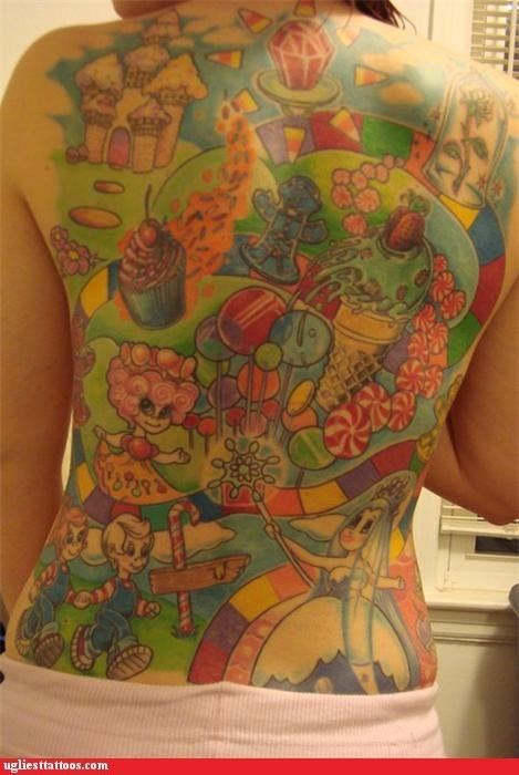 back pieces,childhood memory,rainbows,toys and games