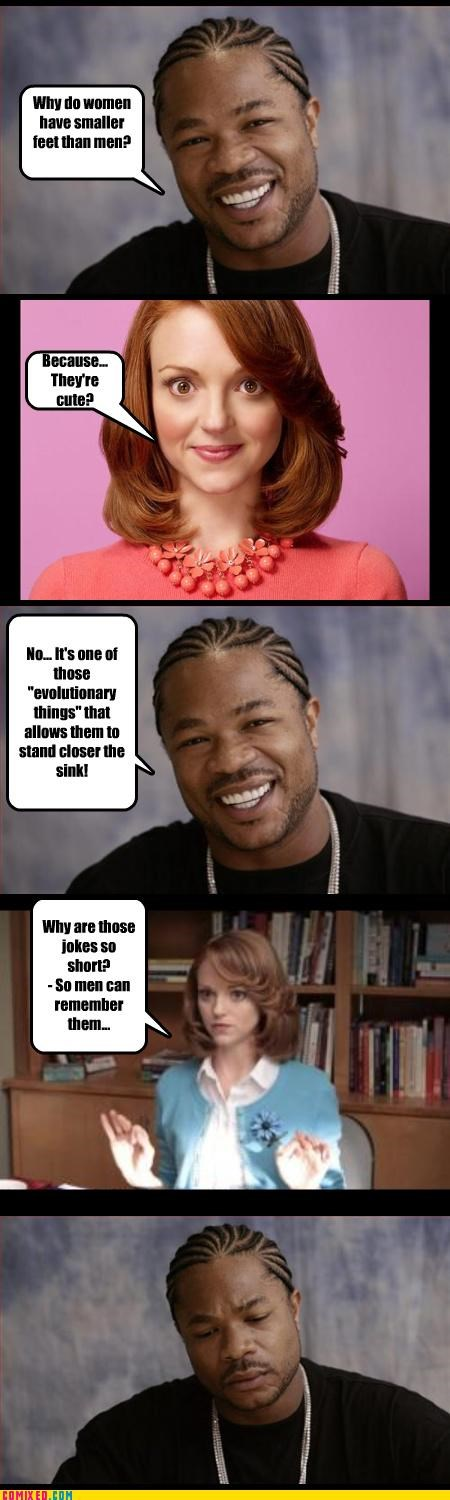glee,jayma mays,jokes,Xxzibit,xzhibit
