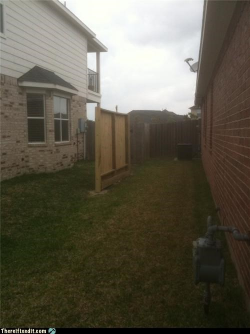 fence,neighbor,not quite,privacy