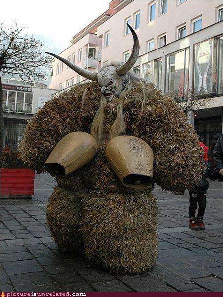 beast costume monster wtf - 3421478144