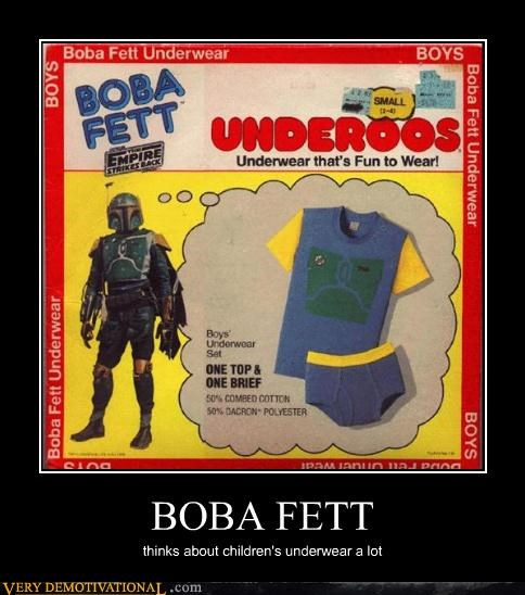 kids merchandise undies boba fett - 3421587456