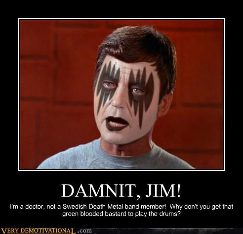 Captain Kirk bones Star Trek - 3421705216