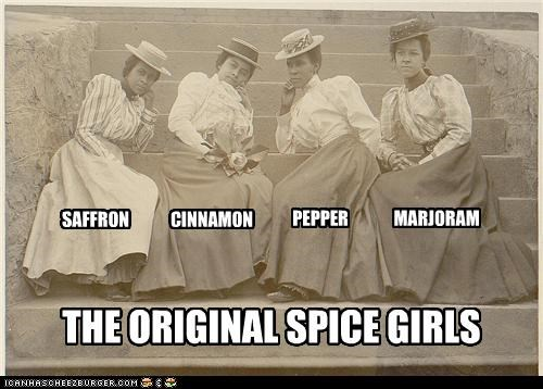 THE ORIGINAL SPICE GIRLS