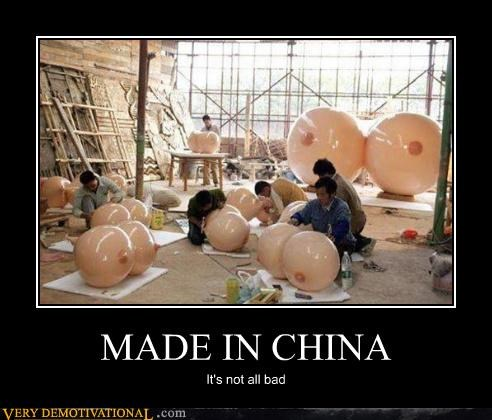 wtf crafting made in china bewbs