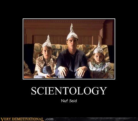 scientology hats sweet idiots - 3423062784