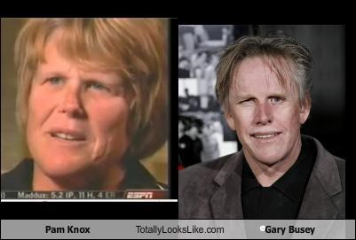 actor gary busey pam knox sports - 3423211520