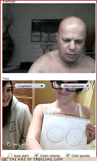 Chat Roulette drawing - 3425265920